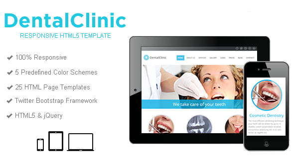DentalClinic Website Template