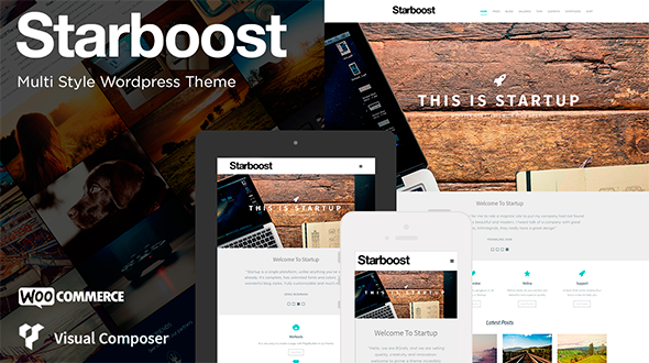 Starboost WordPress Theme