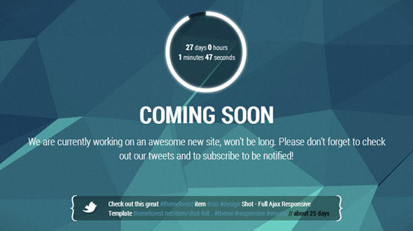 Soon – Coming Soon Template Free Download