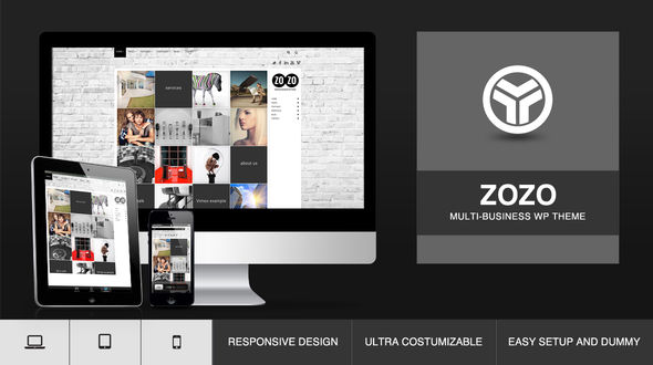 ZOZO, Responsive Multi-Business WordPress Theme Free Download