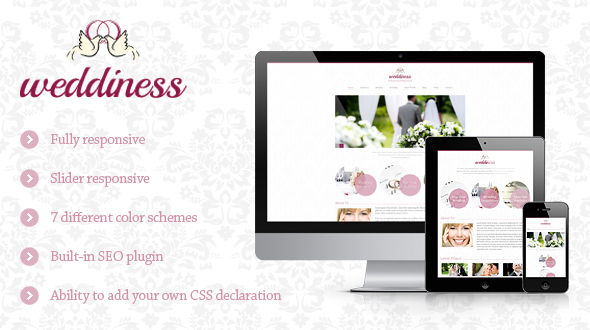 Weddiness Theme Free Download