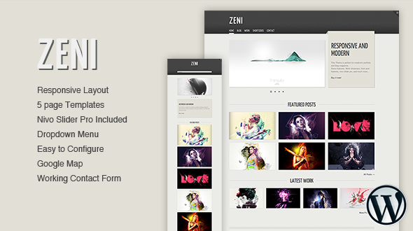 Zeni – WordPress Theme Free Download