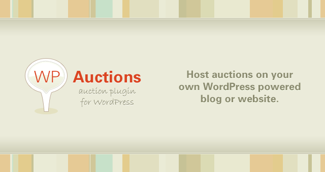 WP Auctions – WordPress Plugin for Auctions