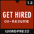 Get Hired - CV / Resume WordPress Theme