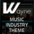 Wayne - Music WordPress Theme