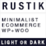 Rustik - Minimalist E-Commerce Ready Theme