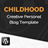 Childhood - Creative WordPress Personal blog theme