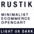 Rustik - Minimalist OpenCart Theme