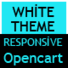 White Simple And Responsive Opencart Theme