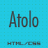 Atolo Single Page HTML Template