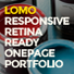 Lomo - Responsive One Page Parallax Template
