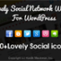 Lovely Social Network WordPress Plugin