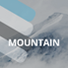 Mountain website layout PSD